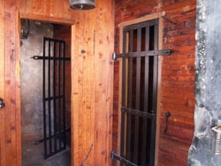 Old Town Jail Interior