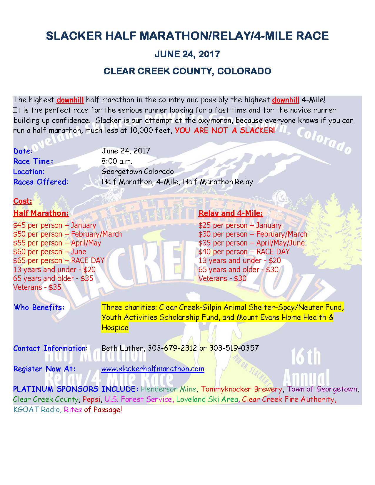 Clear Creek County CO ficial Website